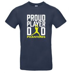 "T-Shirt Navy ""Proud Player..."